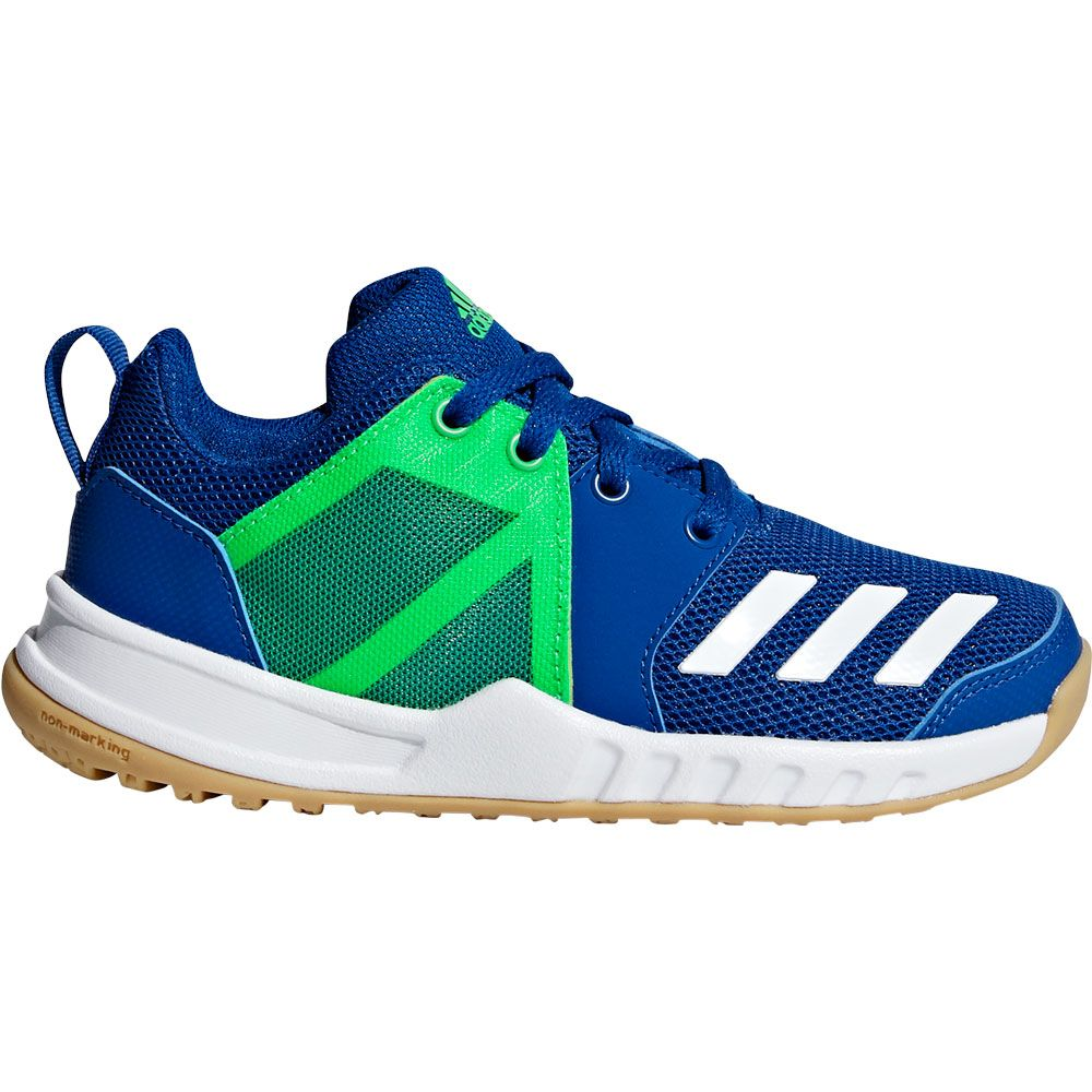 official photos a7d72 9aeb8 adidas - FortaGym Sportschuhe Kinder collegiate royal footwear white shock  lime