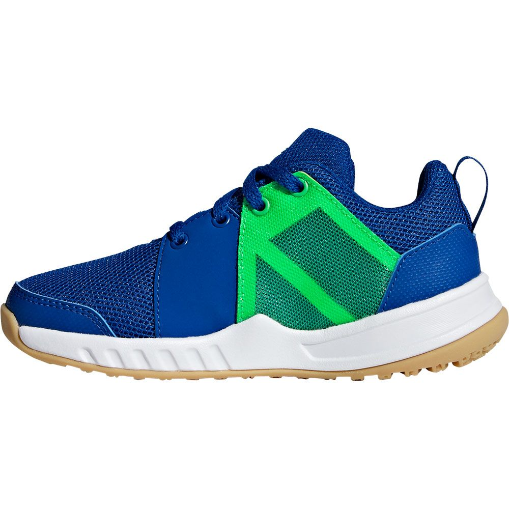 adidas FortaGym Sportschuhe Kinder collegiate royal footwear white shock lime