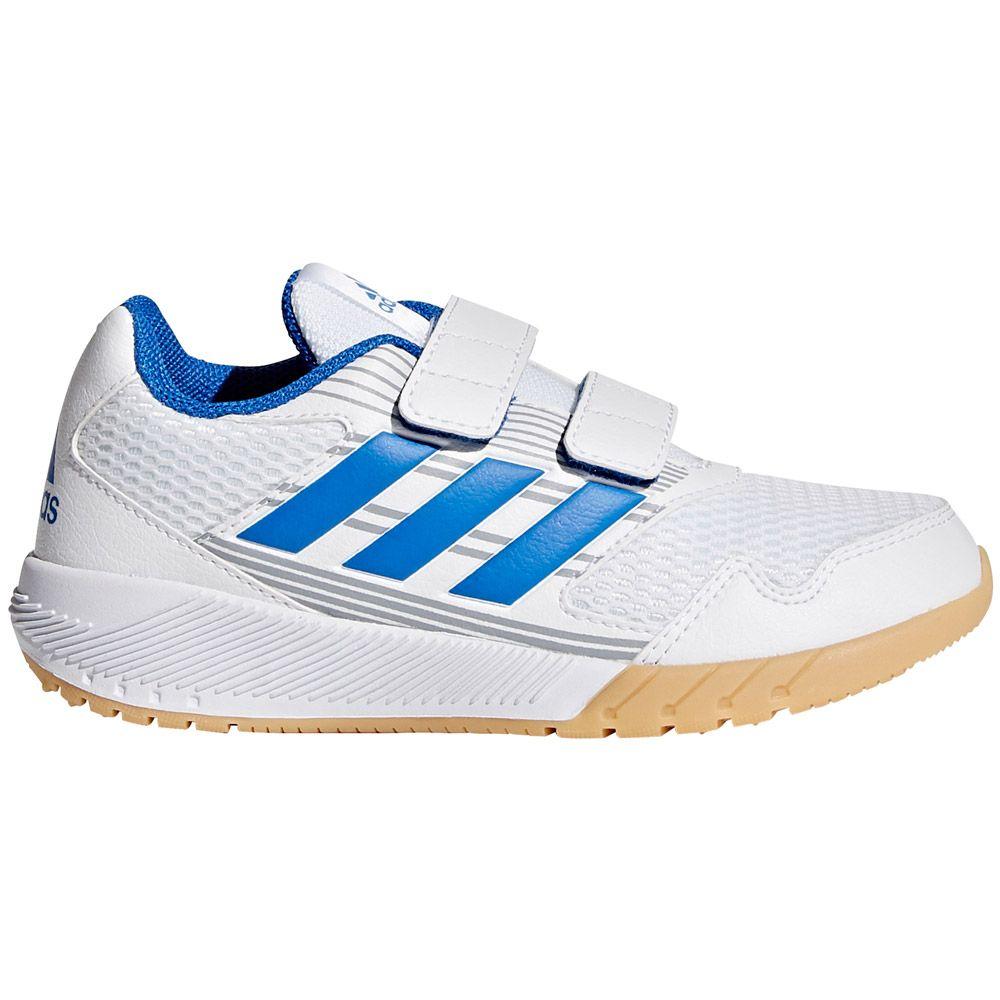 adidas - AltaRun CF K Hallenschuhe Kinder footwear white blue mid grey