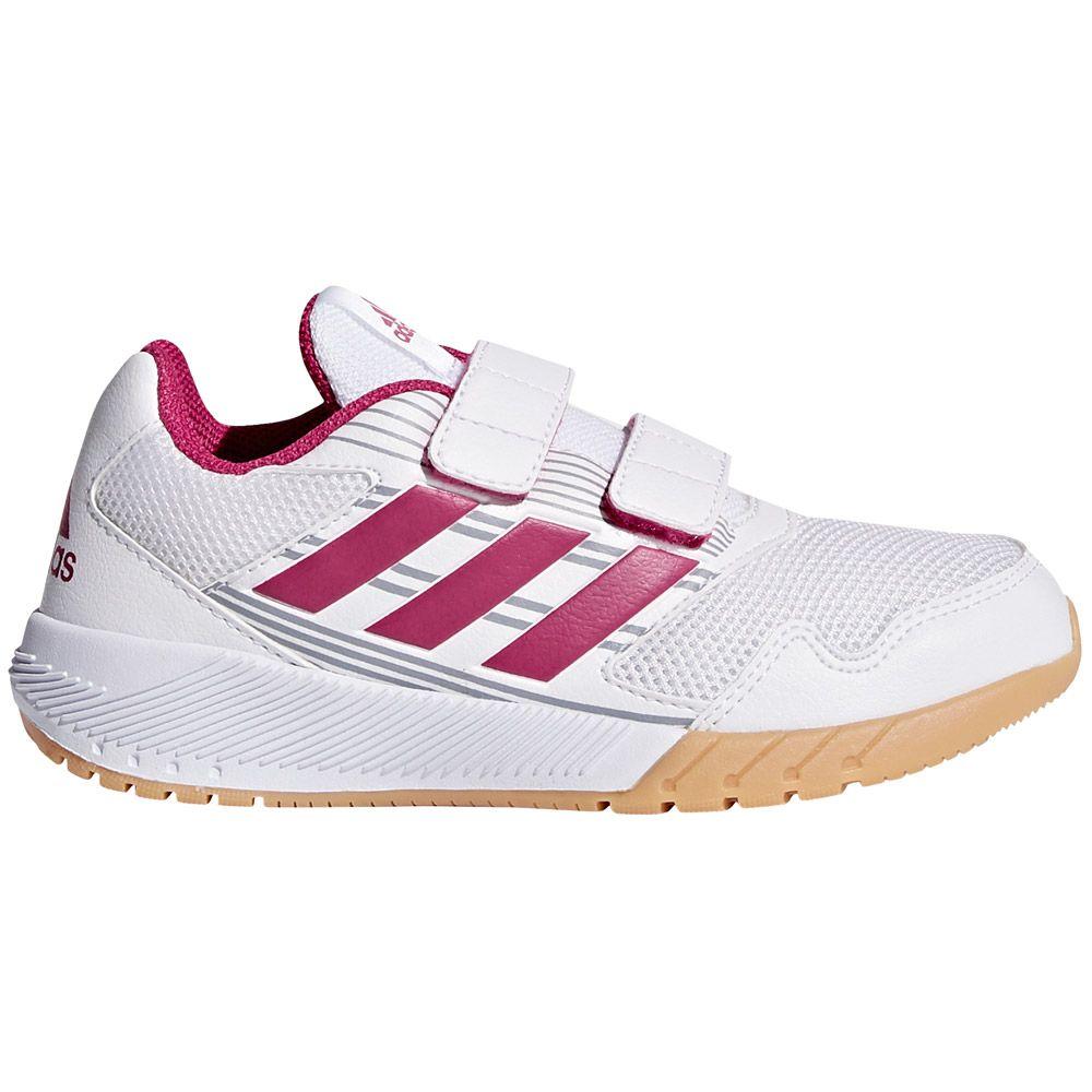 adidas AltaRun CF K Hallenschuhe Kinder footwear bold pink mid grey
