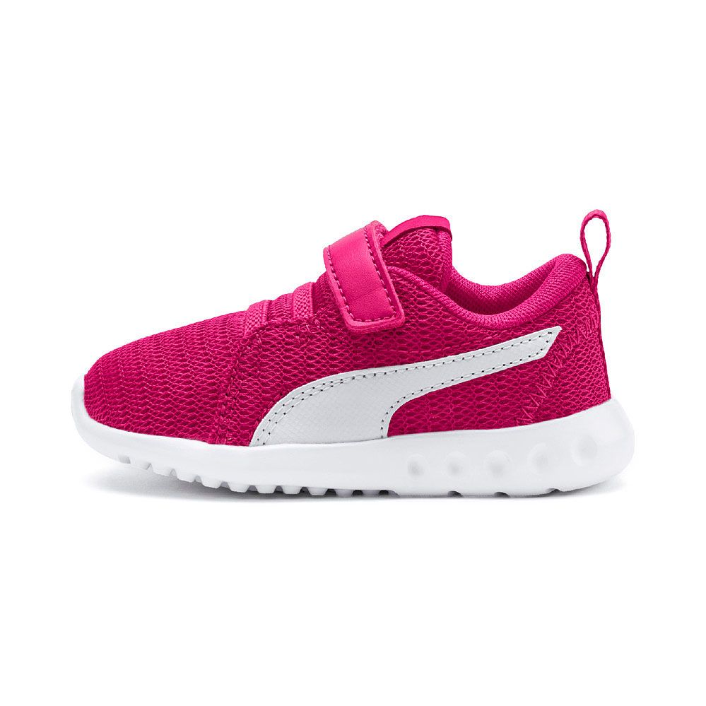 2a3626c53099 Puma - Carson 2 V PS Hook and Loop Shoes Kids fuchsia purple puma ...
