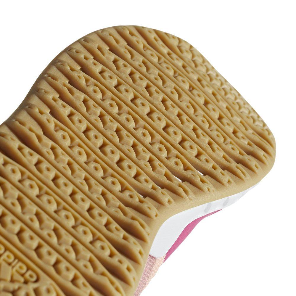 Adidas Damen(Frauen) Essentials Ultimafusion Schuhe KastanienbraunEis LilaWolke Weiß B75968