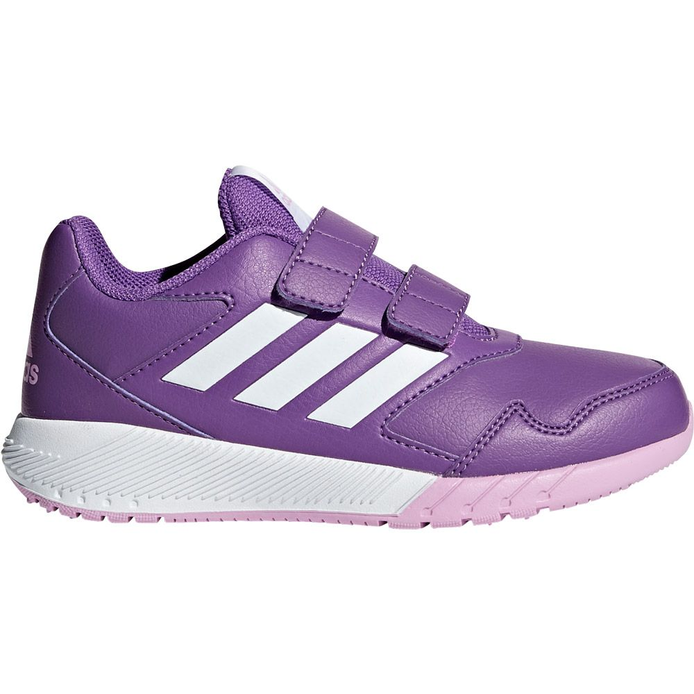 adidas AltaRun CF K Running Shoes Kids ray purple footwear white clear lilac