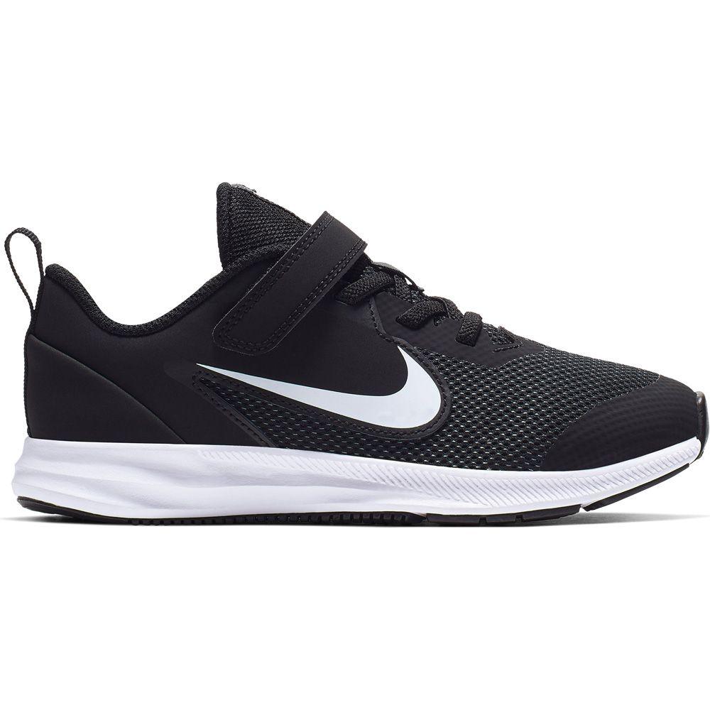 Nike Downshifter 9 Schuhe Kinder schwarz weiß