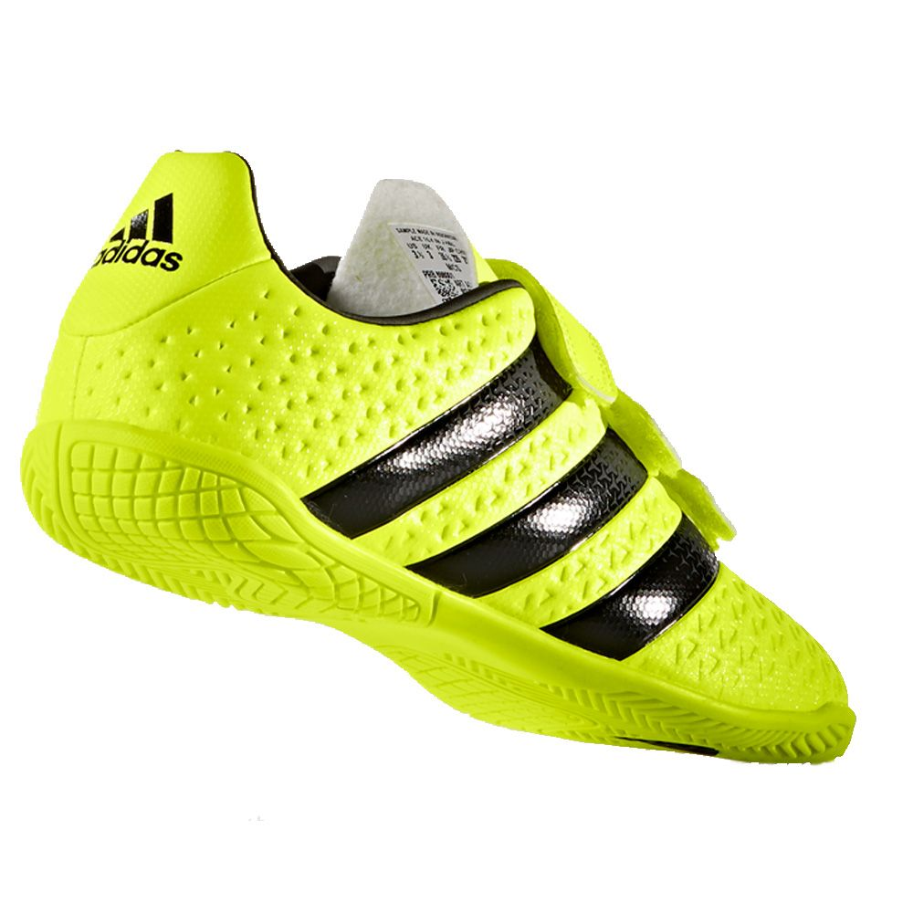 adidas ACE 16.4 In H&L Hallenschuhe Kinder solar yellow