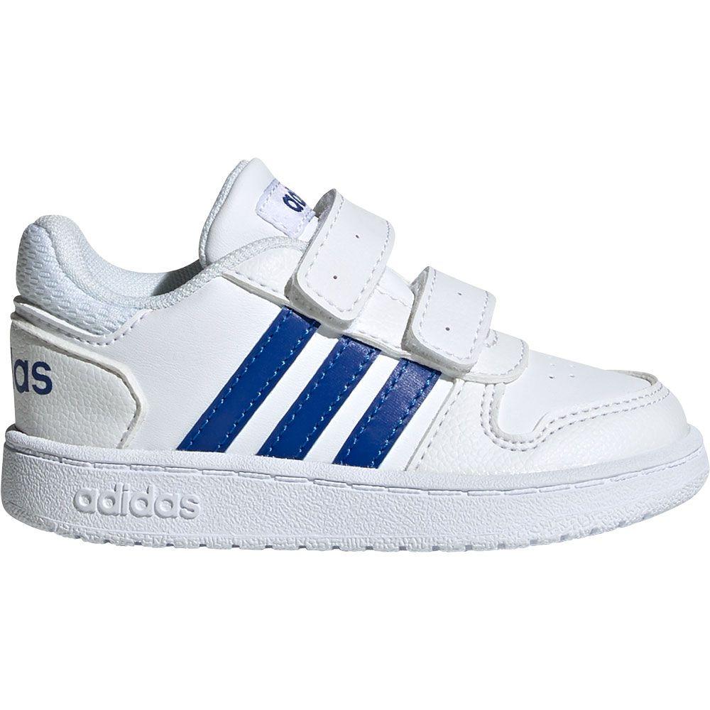 Adidas VS Hopps Mid 2.0 Kinder Hi Sneaker, navy blauweiss