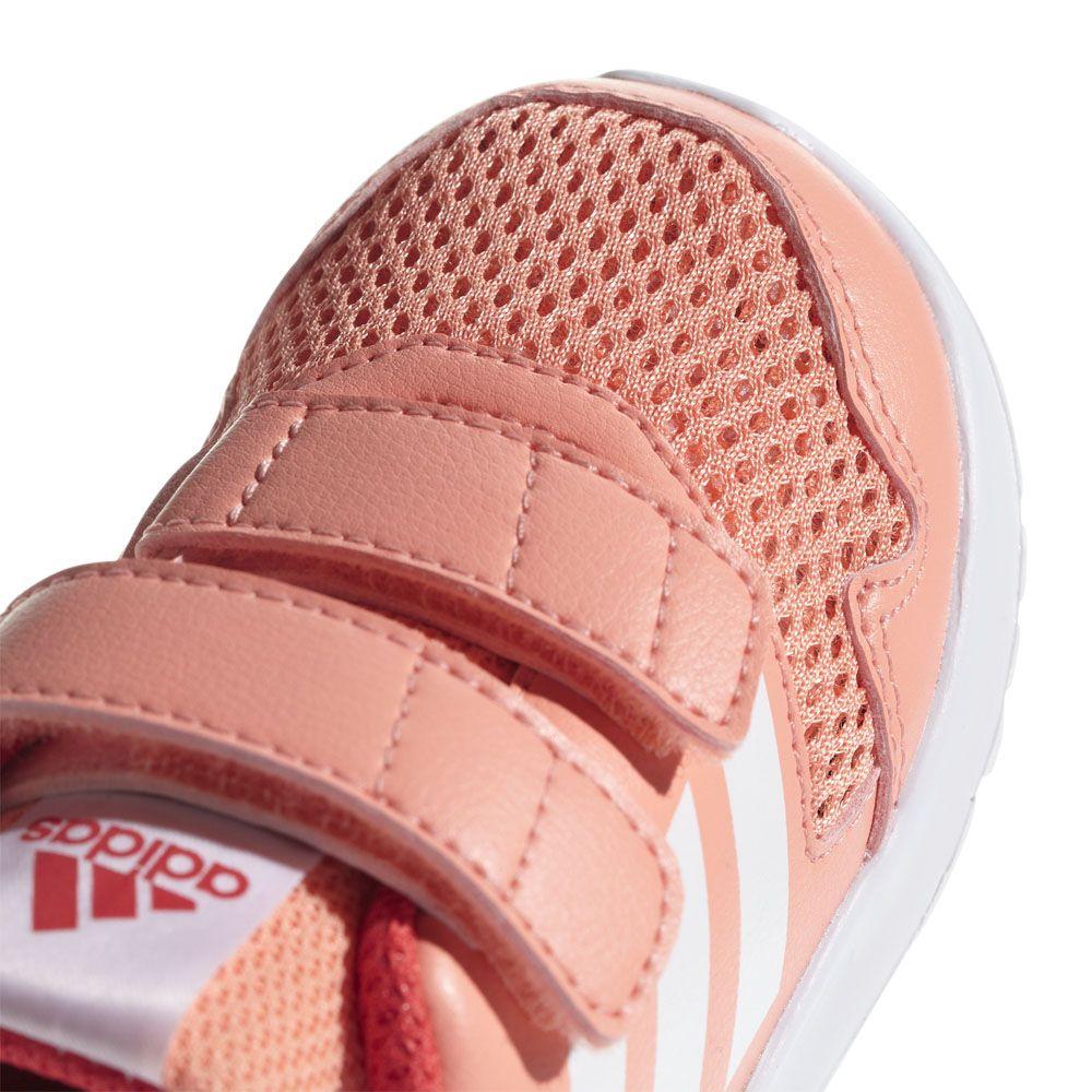 Details zu ADIDAS Adifit Kinder Turnschuhe Gr 23 UK 6K Textil Leder Schwarz Mädchen Schuhe