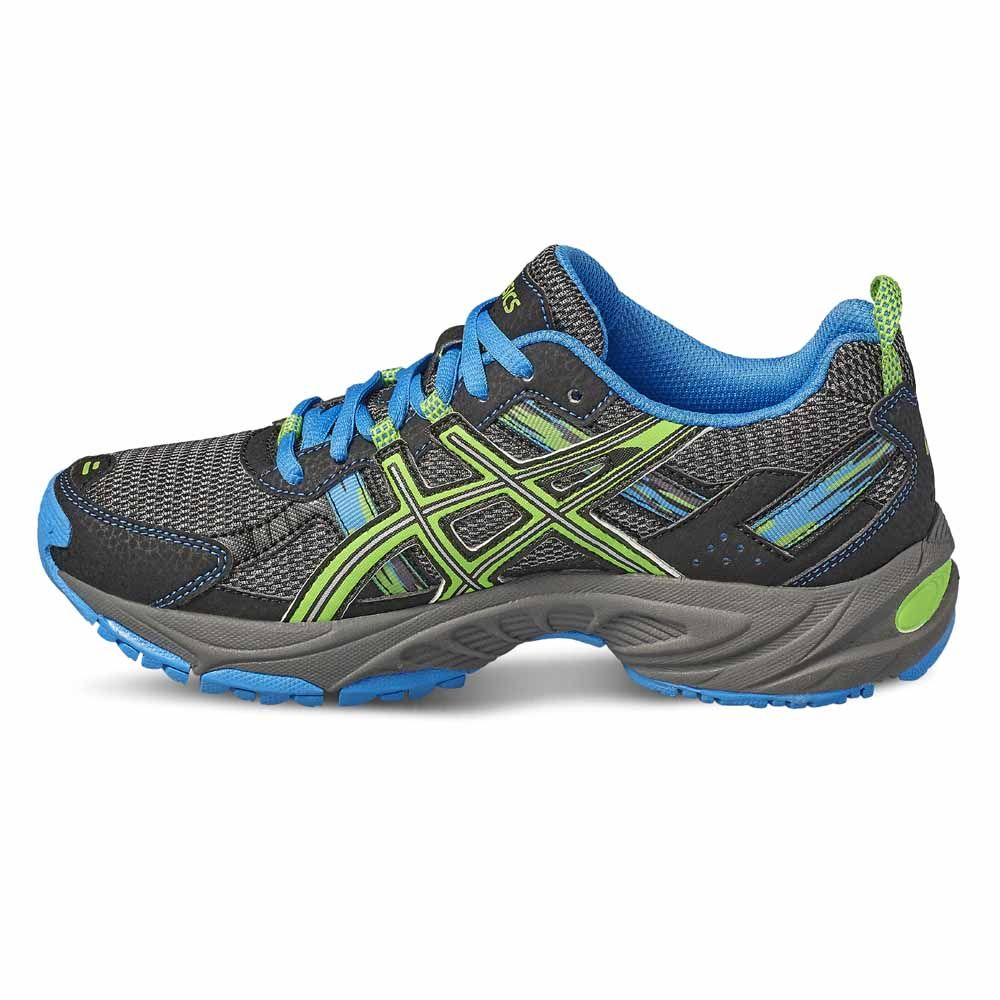 25813416d0 ASICS - GEL-Venture 5 GS kids aluminium green gecko at Sport Bittl Shop