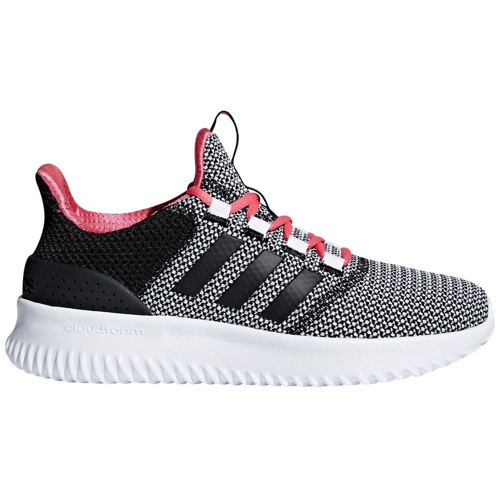 Adidas Core White Schuhe Cloudfoam Ultimate Black Ftwr Kinder WrCBodxe