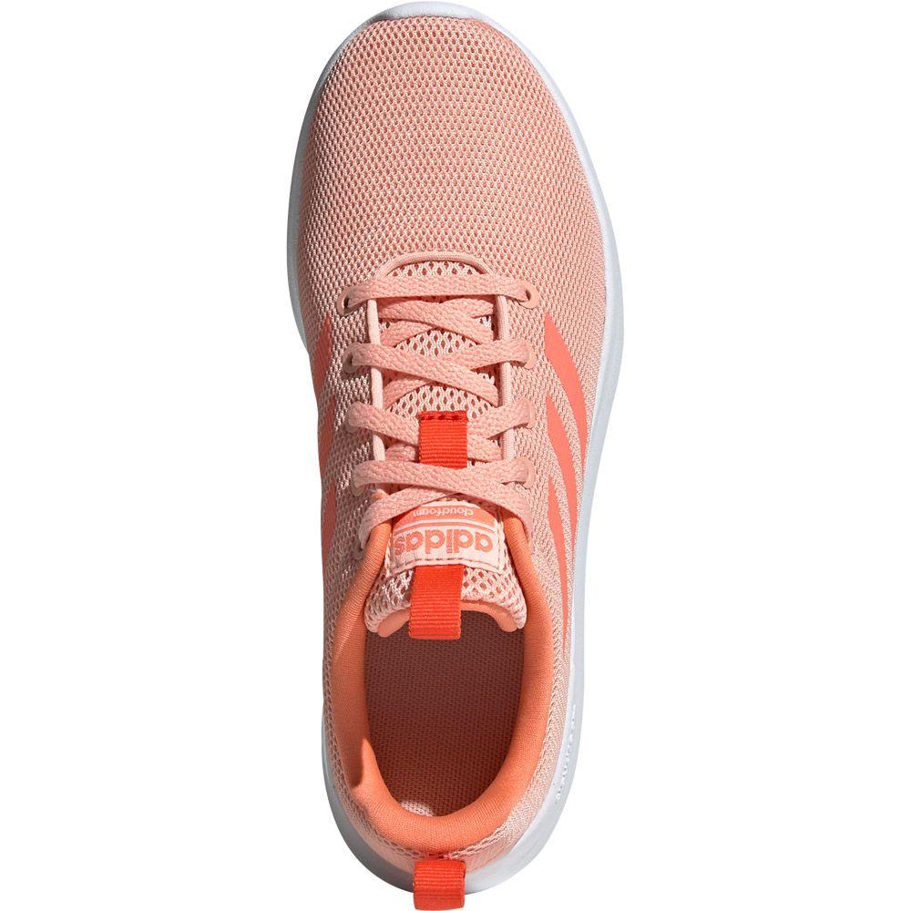 adidas Lite Racer CLN Shoes Kids glow pink semi coral active orange
