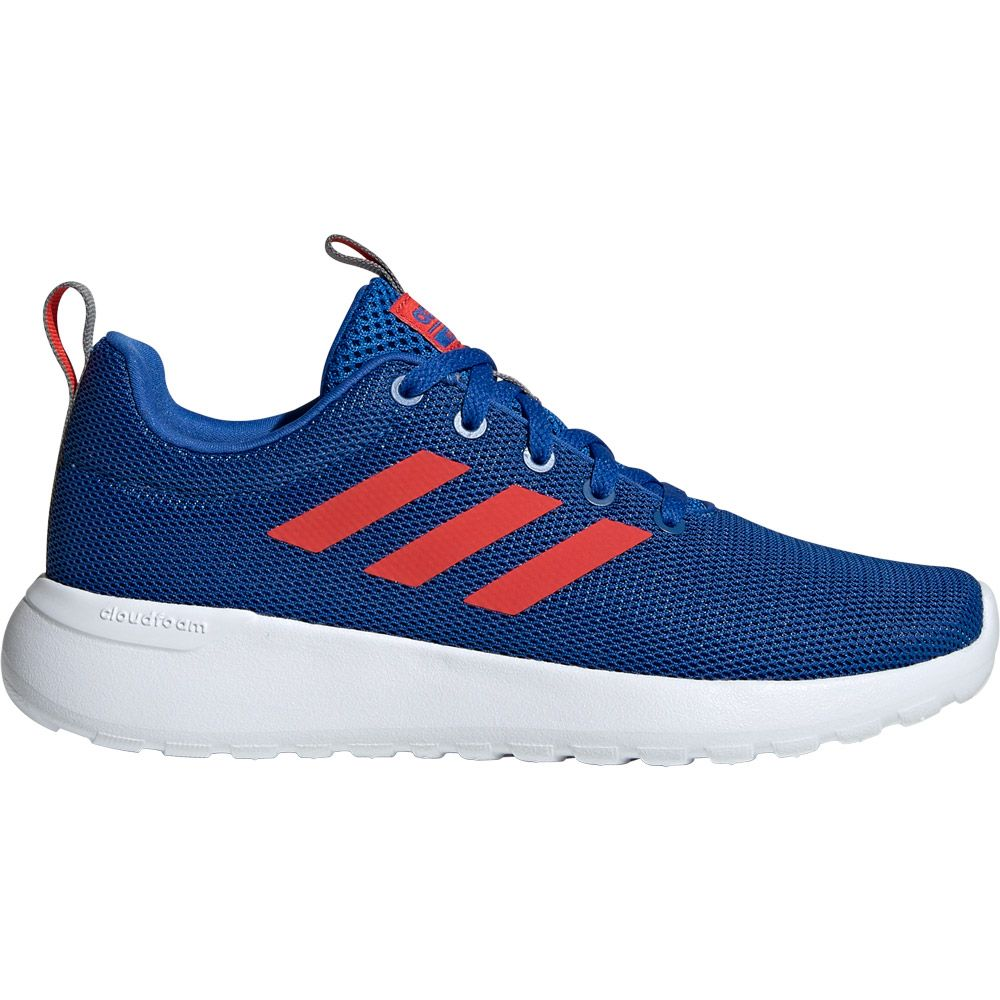 adidas Lite Racer CLN Running Shoes Kids blue active red grey three