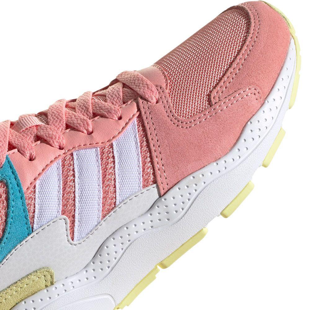 white adidas Kinder cyan glory bright Crazychaos Schuhe footwear pink b6vYf7yg