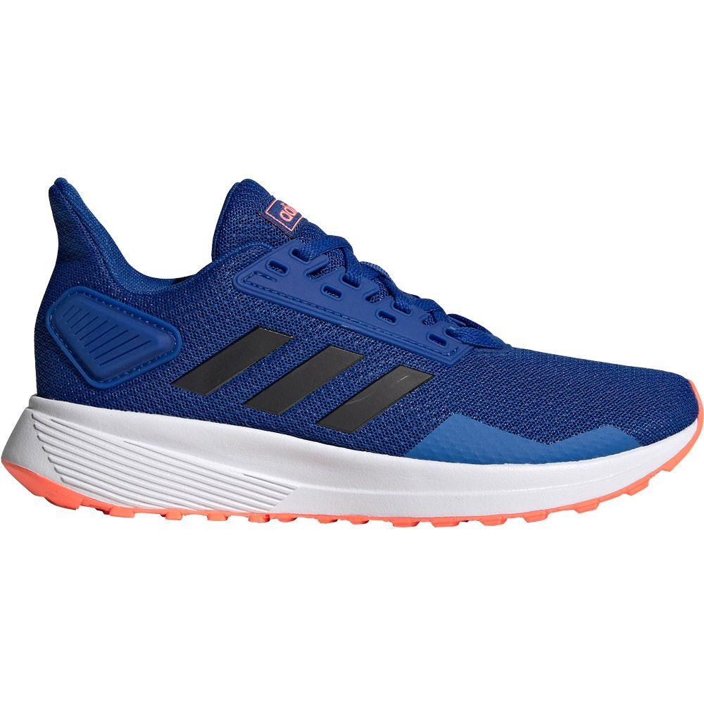 adidas Duramo 9 Running Shoes Kids team royal blue core black signal coral