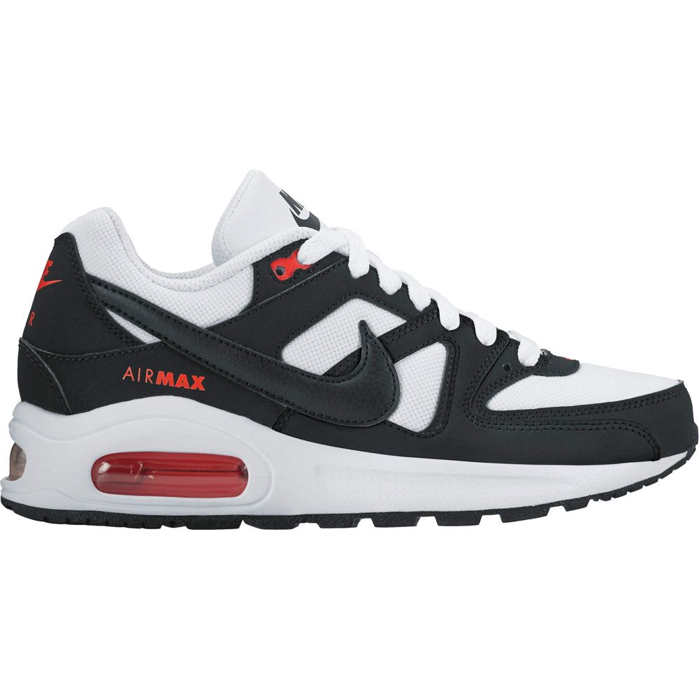 the best attitude 011ff 4b31d Air Max Command Flex GS Running Shoes Kids white black max orange