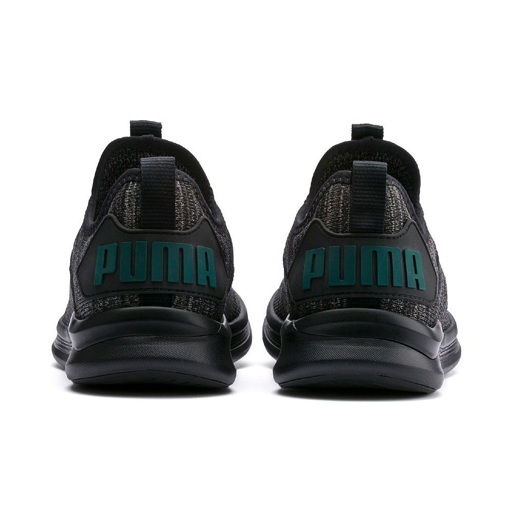 quality design ca520 1b455 Puma - Ignite Flash evoKNIT Jr. Running Shoes Kids puma black dark shadow  ponderosa pine