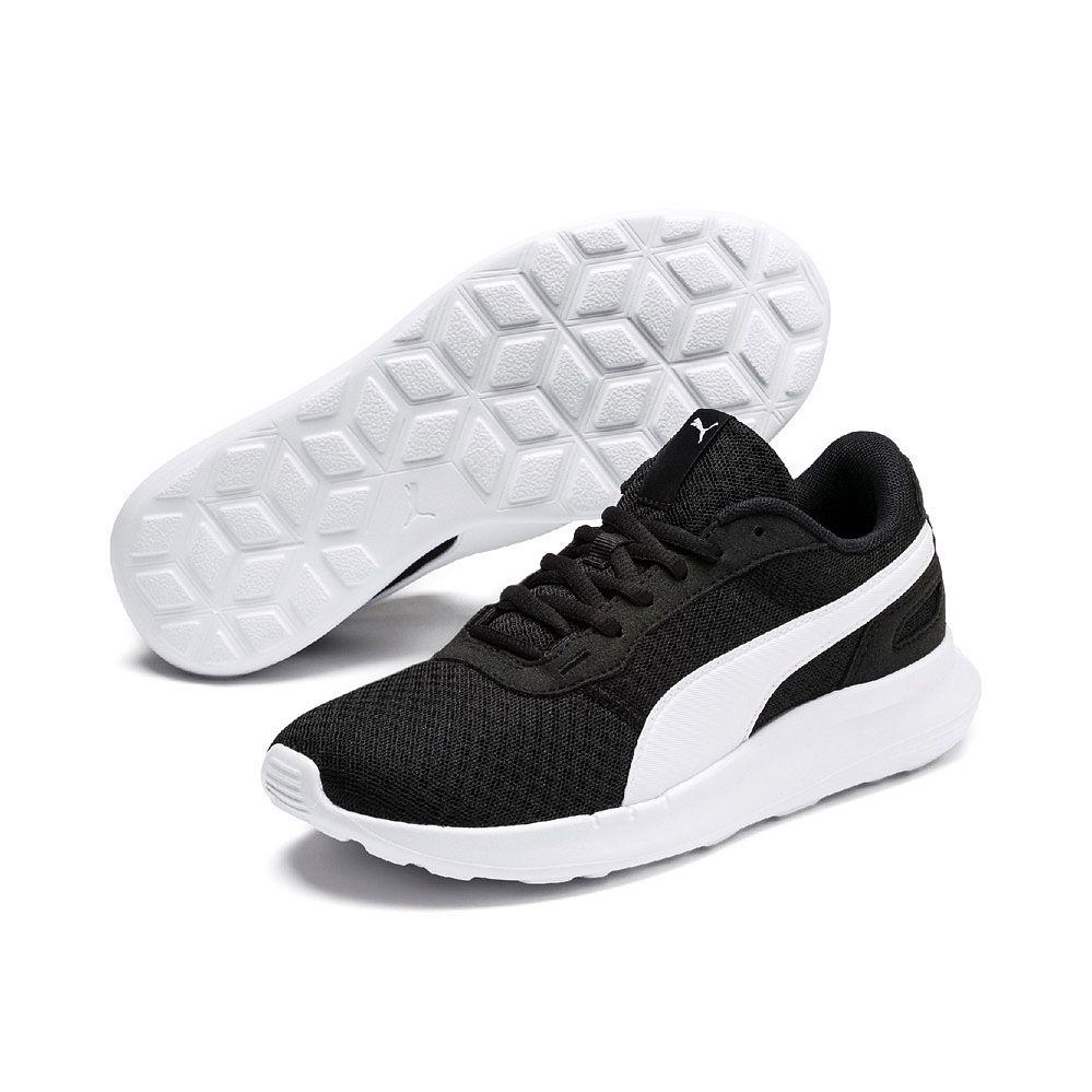 Puma - ST Activate Jr. Running Shoes Kids puma black puma white