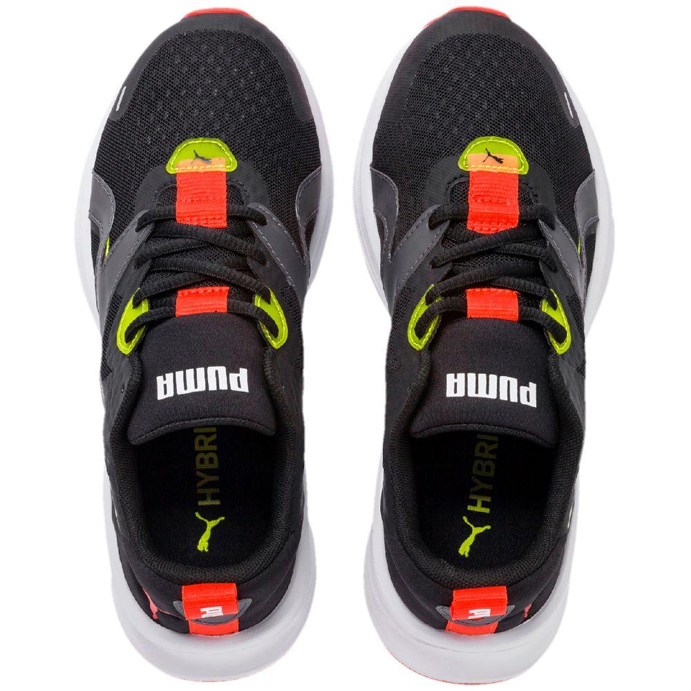 Puma Hybrid Fuego Jr. Sneaker puma black nrgy yellow