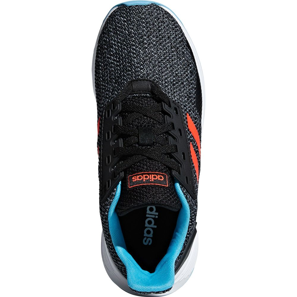 adidas Duramo 9 Running Shoes Kids core black solar red