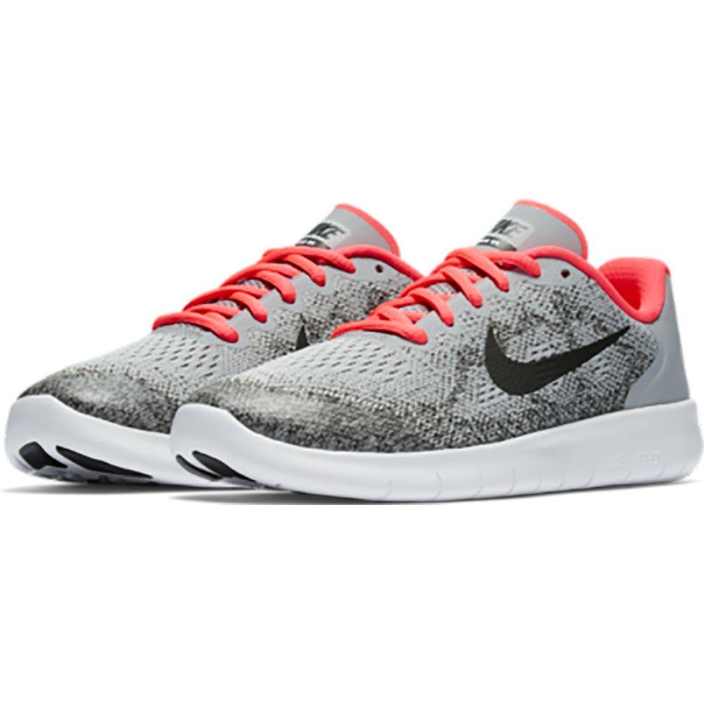 f1173550a0a7 Nike - Free Run Running Shoe Kids wolf grey racer pink white black ...