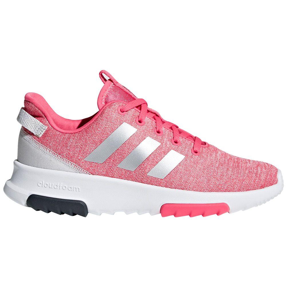 adidas - Cloudfoam Racer TR Sneaker Kids real pink silver met ftwr white