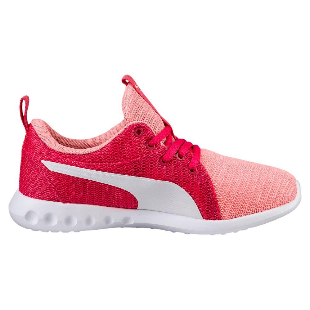 3686d905028 Puma - Carson 2 Jr. Sports Shoes Girls soft fluo peach puma white at ...