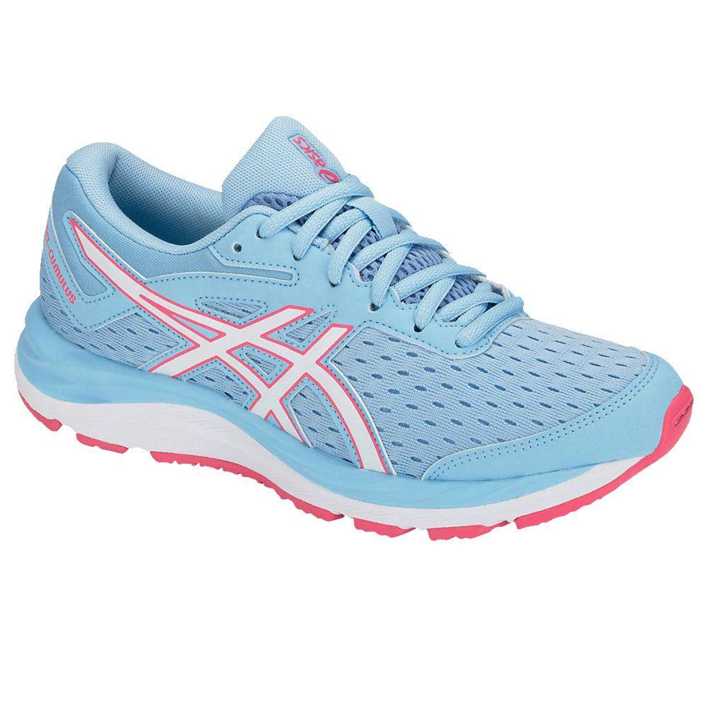 ASICS Gel Cumulus 20 GS Running Shoes Kids azure blue print