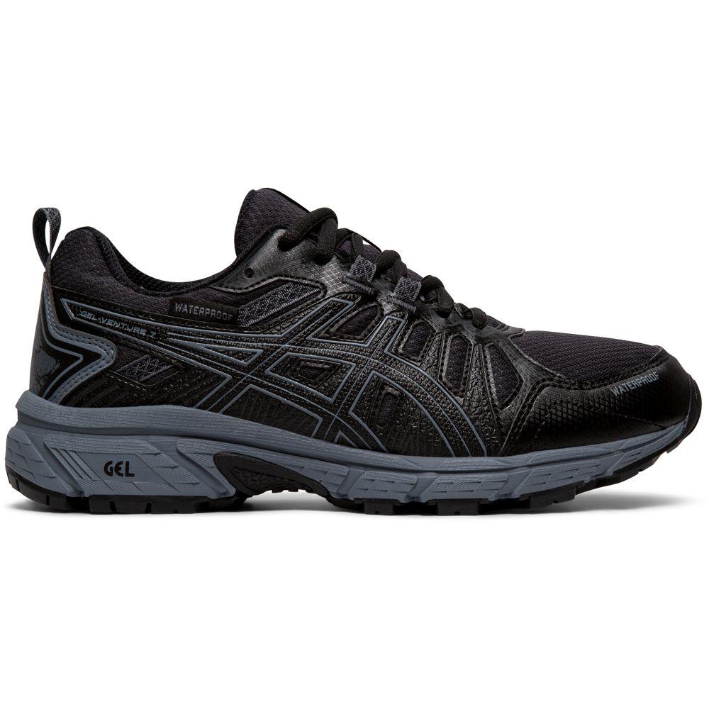 ASICS Gel Venture 7 GS WP Running Shoes Kids black metropolis