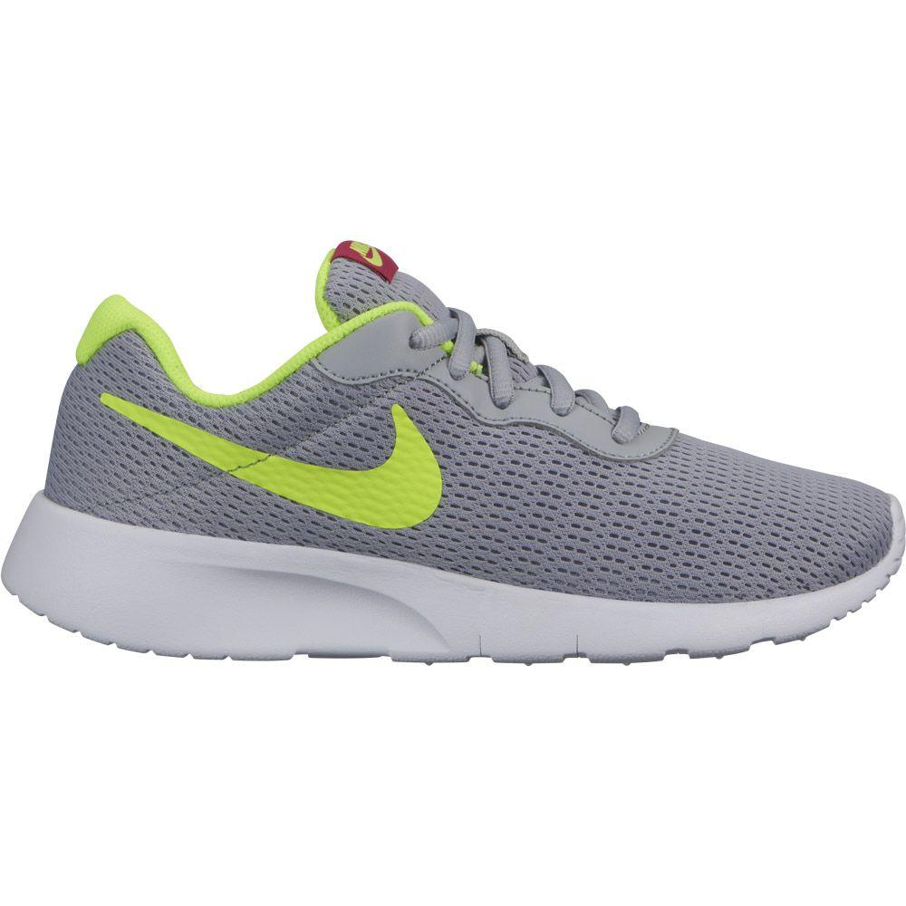 9457c1ecda2f05 Nike - Tanjun (GS) Laufschuhe Jungen wolf grey volt rush pink kaufen ...