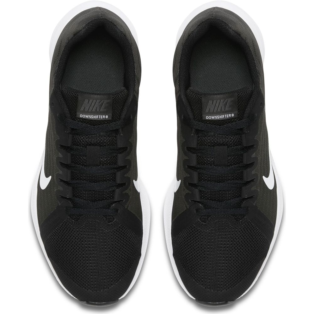 new concept recognized brands top brands Nike - Downshifter 8 (GS) Running Shoes Boys black white anthracite