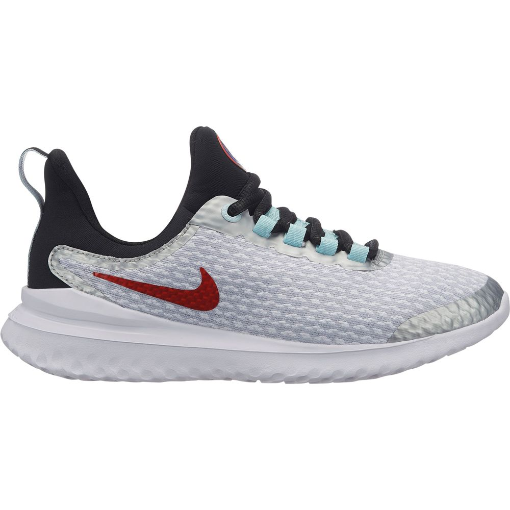Nike Revolution 4 SD Indoor Shoes Kids pure platinum team