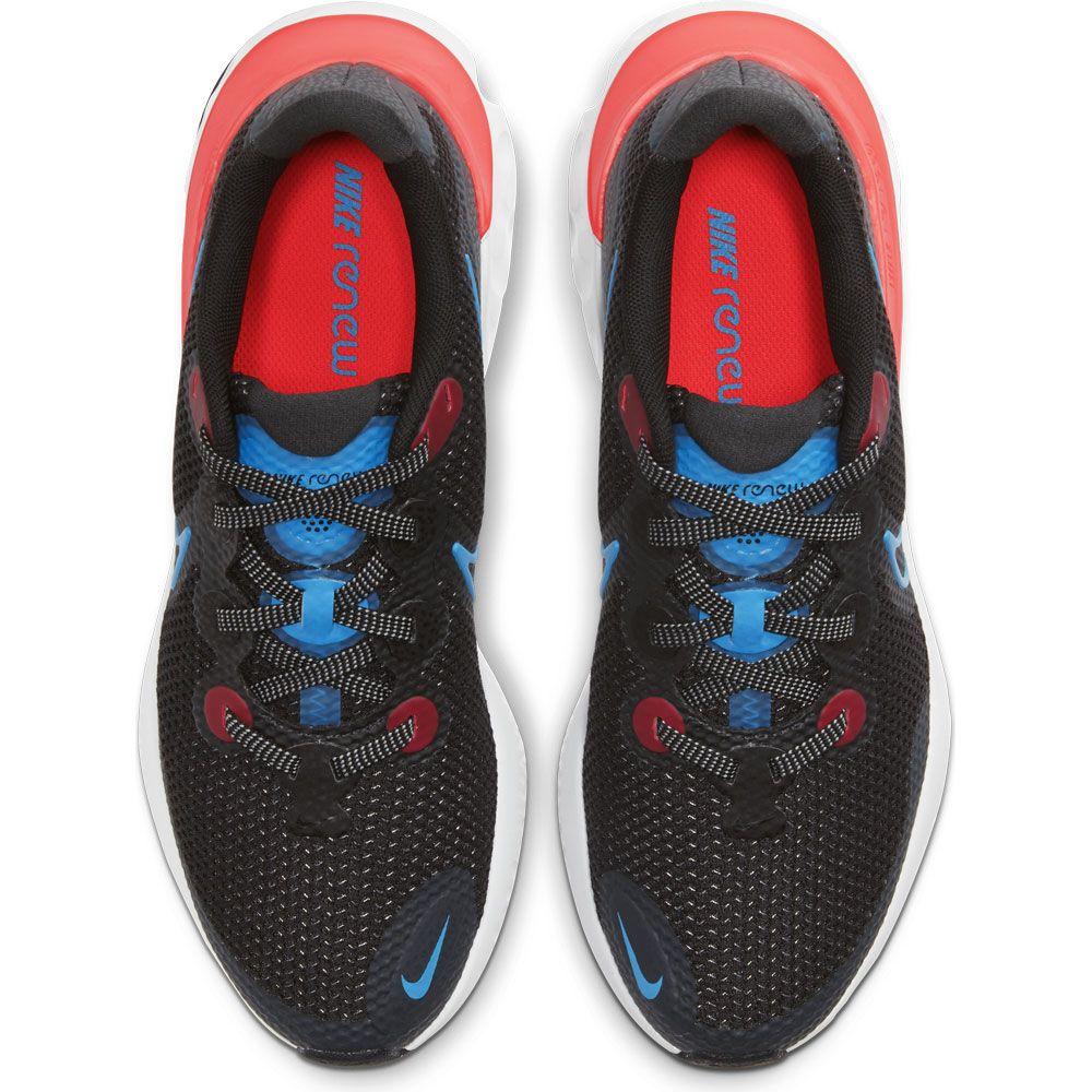 Nike Renew Run (GS) Laufschuhe Kinder black light lime smoke grey