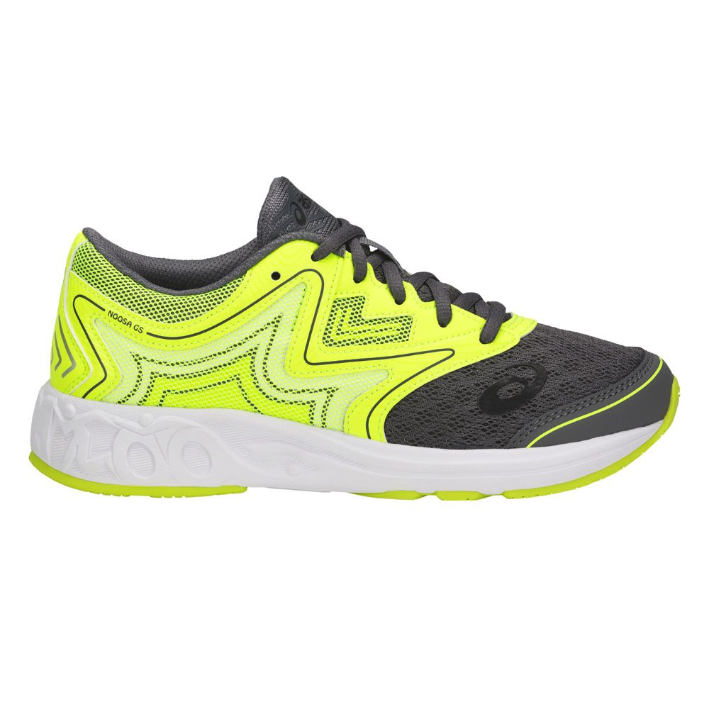 asics noosa gs laufschuhe kinder carbon safety yellow. Black Bedroom Furniture Sets. Home Design Ideas