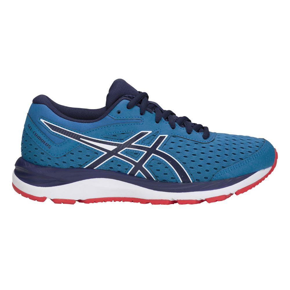 ASICS - Gel-Cumulus 20 GS Running Shoes Kids race bloe peacoat at ... 21e883b401