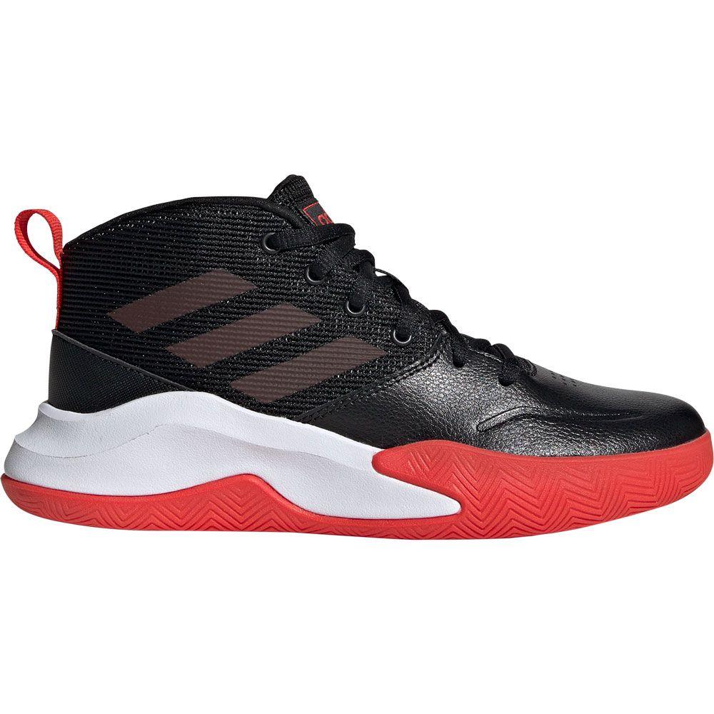 Wide Basketball Shoes Kids core black