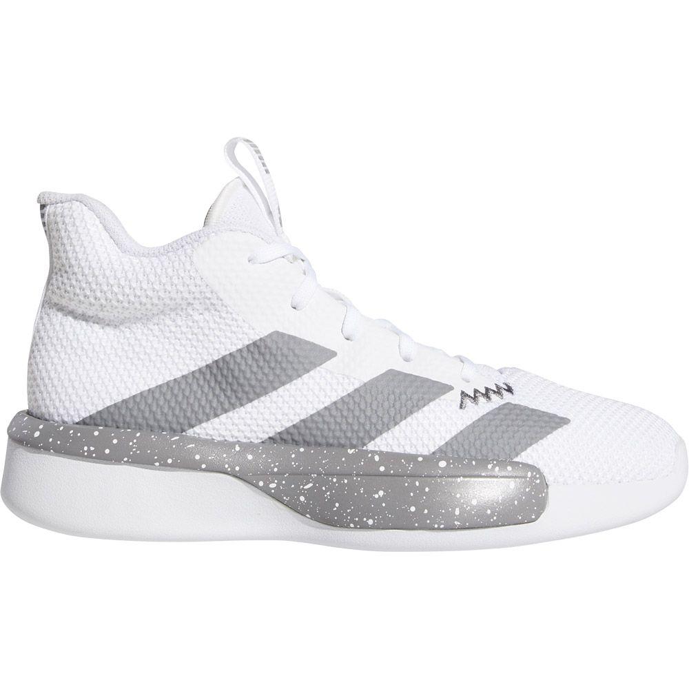 adidas Pro Next Basketballschuhe Kinder footwear white grey three