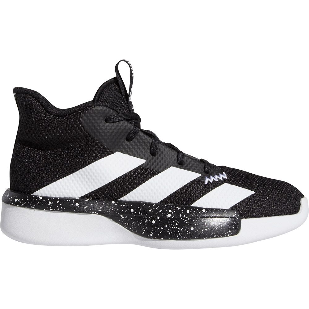 adidas Pro Next Basketballschuhe Kinder core black footwear white