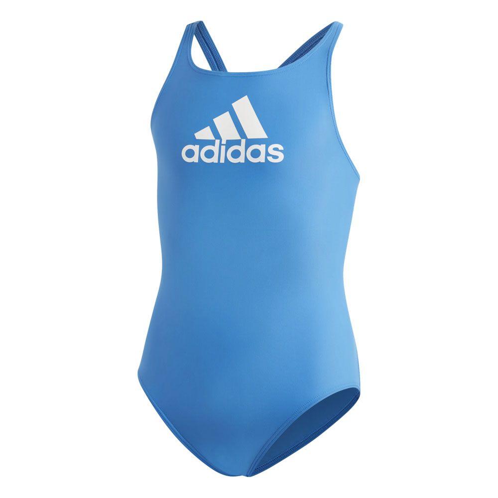 adidas Badge of Sport Badeanzug Mädchen true blue