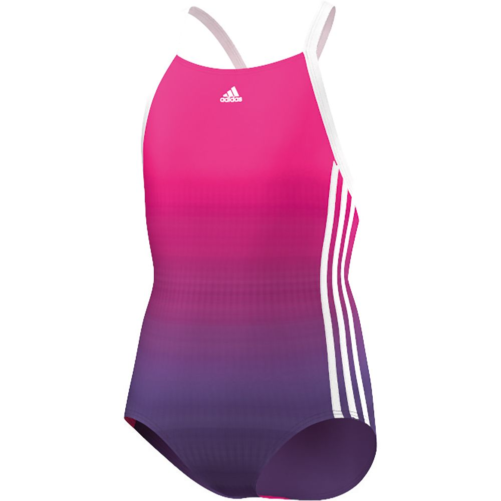 ed89d691d1 adidas - Girls Suit Allover Youth Kids unity purple shock pink at ...