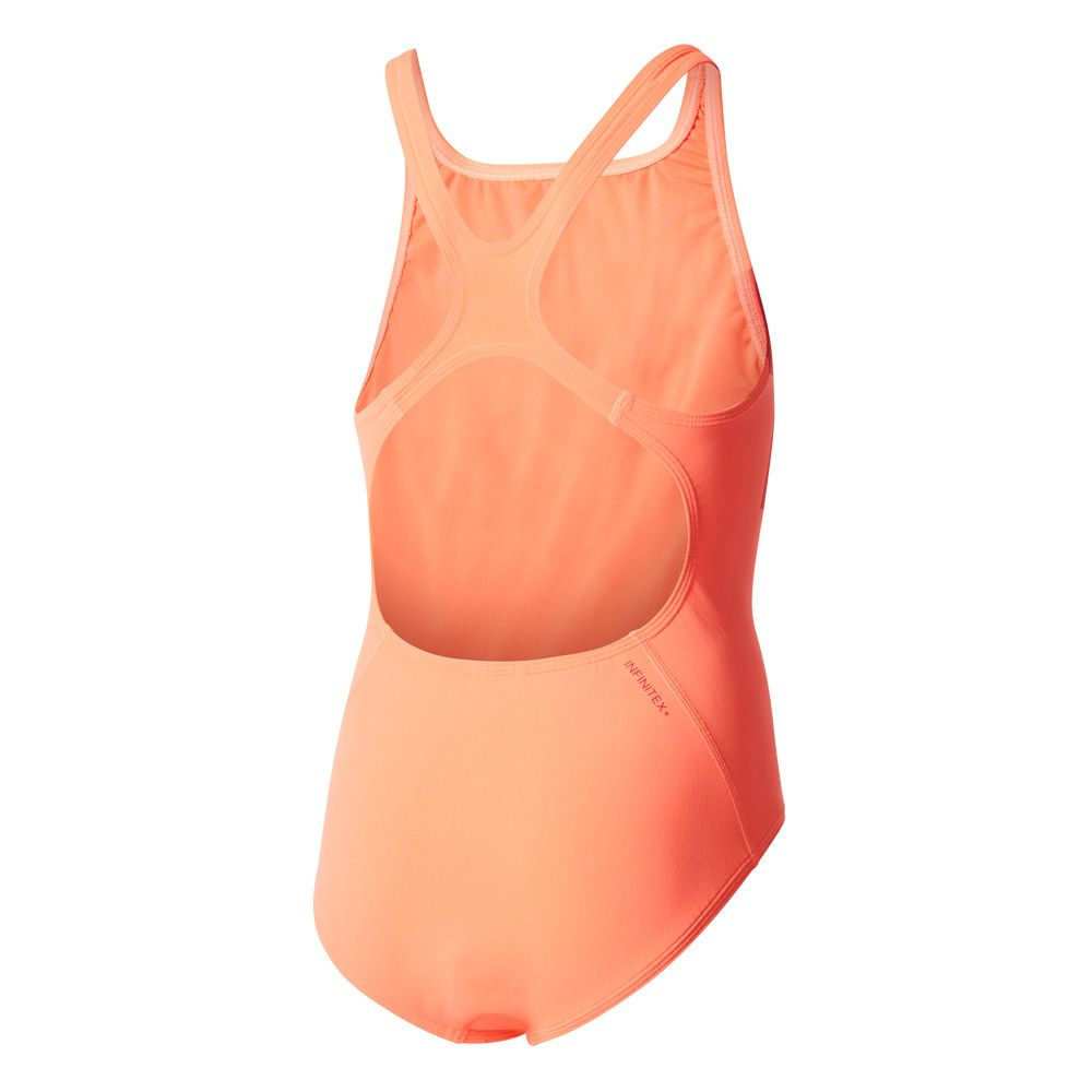 36d2a8f63b adidas - INFINITEX+ Graphic Performance Swim Suit girls easy coral ...