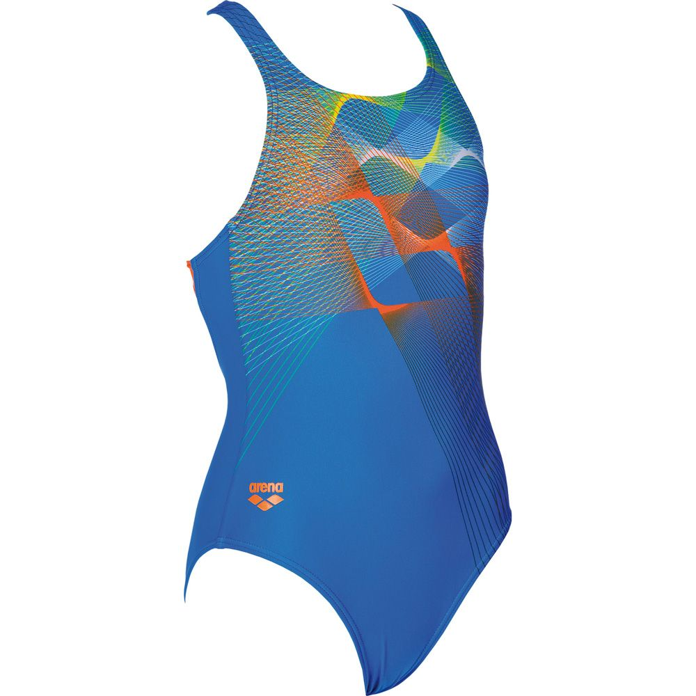 6d3cefd33c572 Arena - Sprite Swimsuit Girls pix blue mango at Sport Bittl Shop