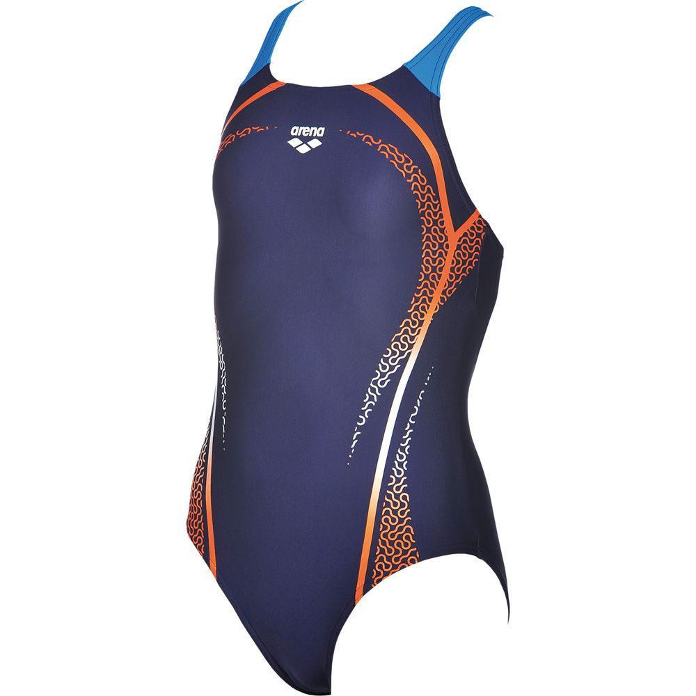 9af00db3a6efb Arena - Modular Swimsuit Girls navy mango at Sport Bittl Shop
