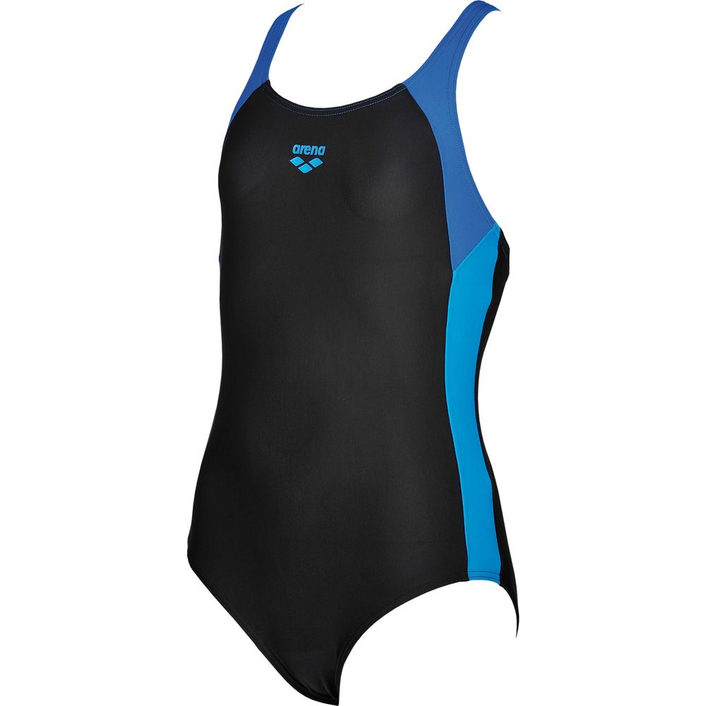 09039881acb5c Arena - Ren Swimsuit Girls black pix blue at Sport Bittl Shop