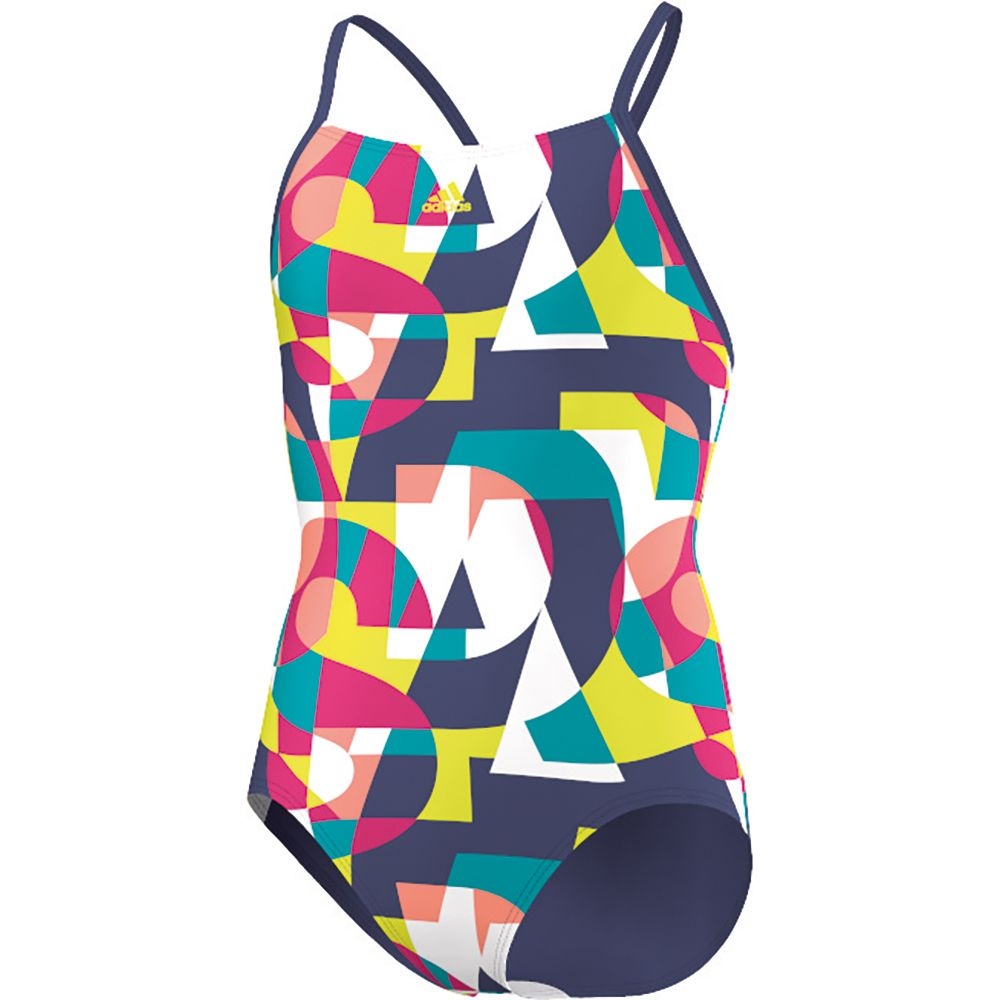 98f1ea410188b adidas - All Over Print Swimsuit Girls raw purple shock yellow at ...