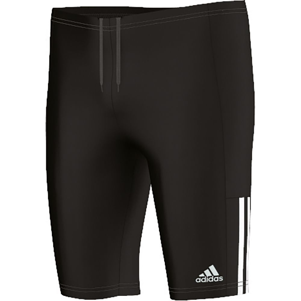 adidas 3S Jammer Youth Badehose Kinder black white