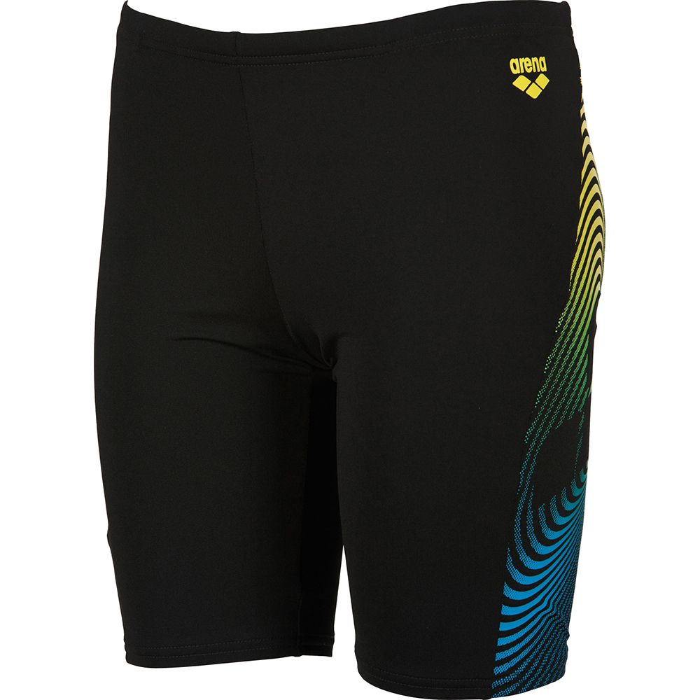 b61e3247b66d4 Arena - Espiral JR Jammer Short Boys black soft green at Sport Bittl ...