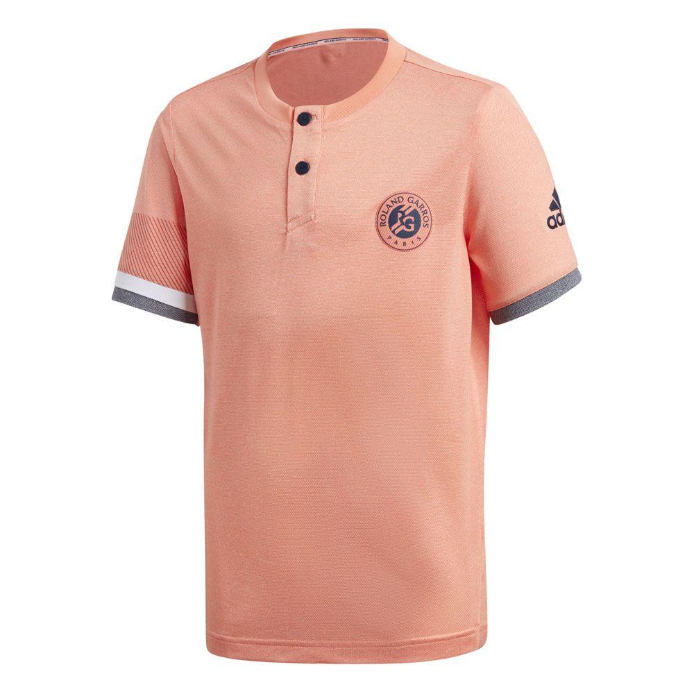 cdddd518cc adidas - Roland Garros T-shirt Boys chalk coral