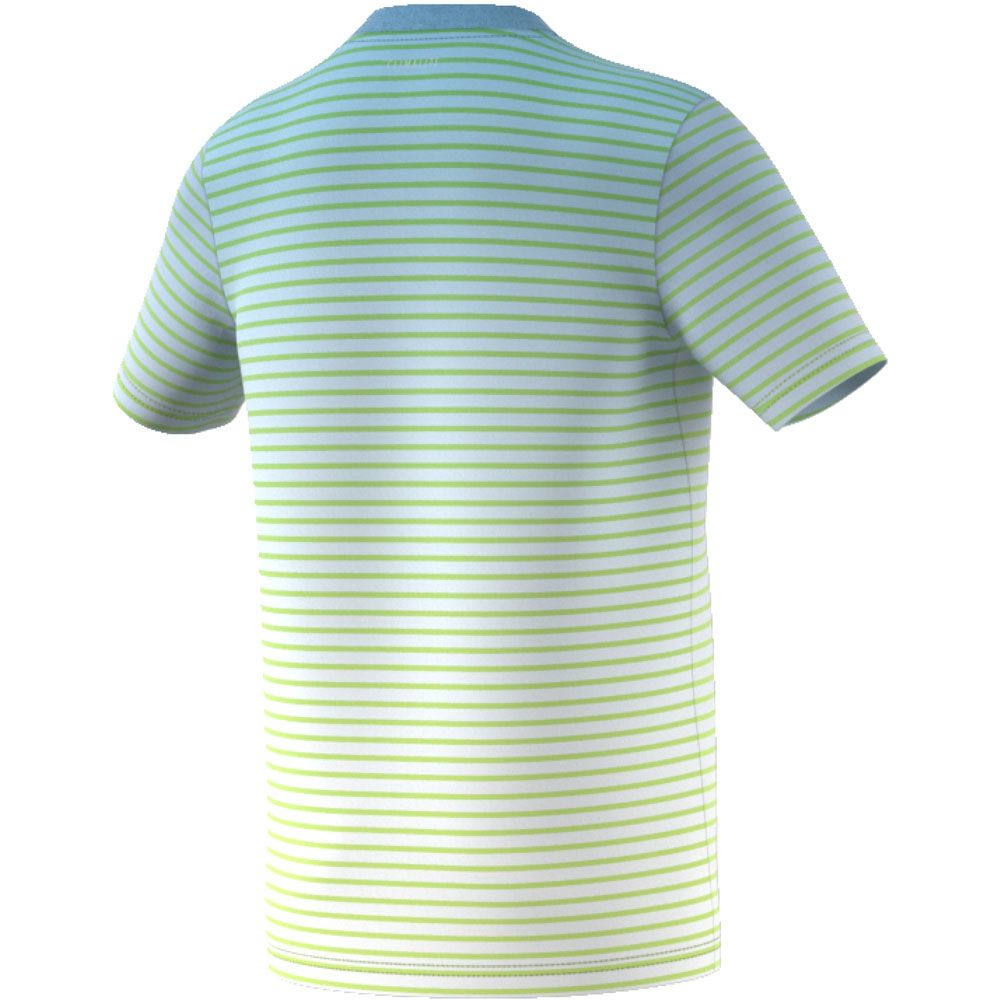 3096aa1b00373 adidas - Melbourne Striped T-shirt Boys semi frozen yellow at Sport ...