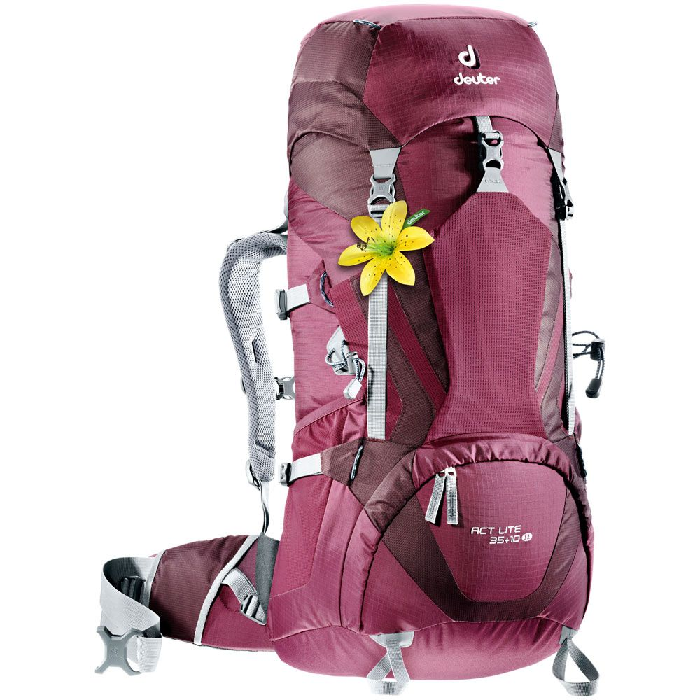 Deuter - ACT Lite 35+10L Trekking Backpack Women blackberry