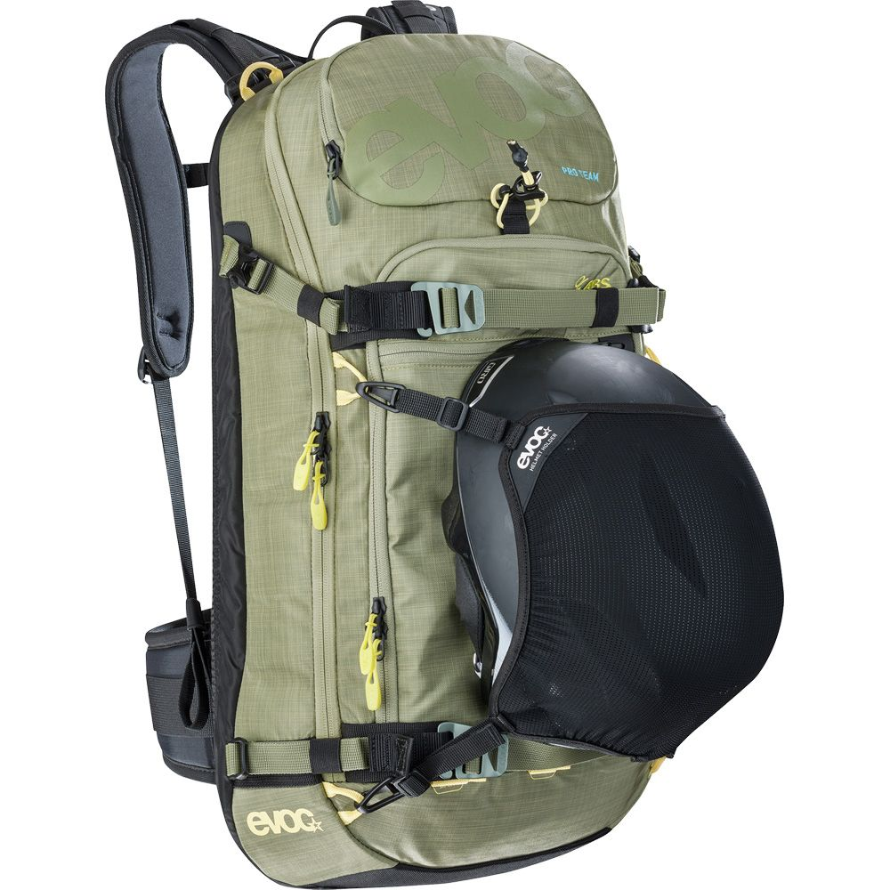Evoc Zip On Abs Pro Team Top Attachment 20l Olive At