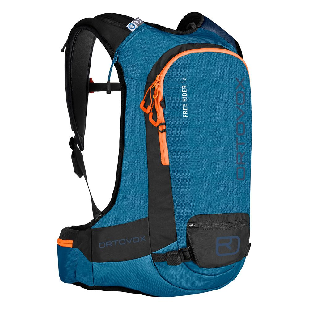 703a1fae5381 ORTOVOX - Free Rider 16L Touring Backpack blue sea at Sport Bittl Shop